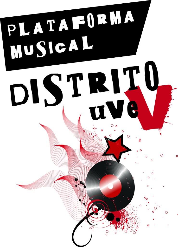 Logo DistritoUVE - censo riot girl - vane balón