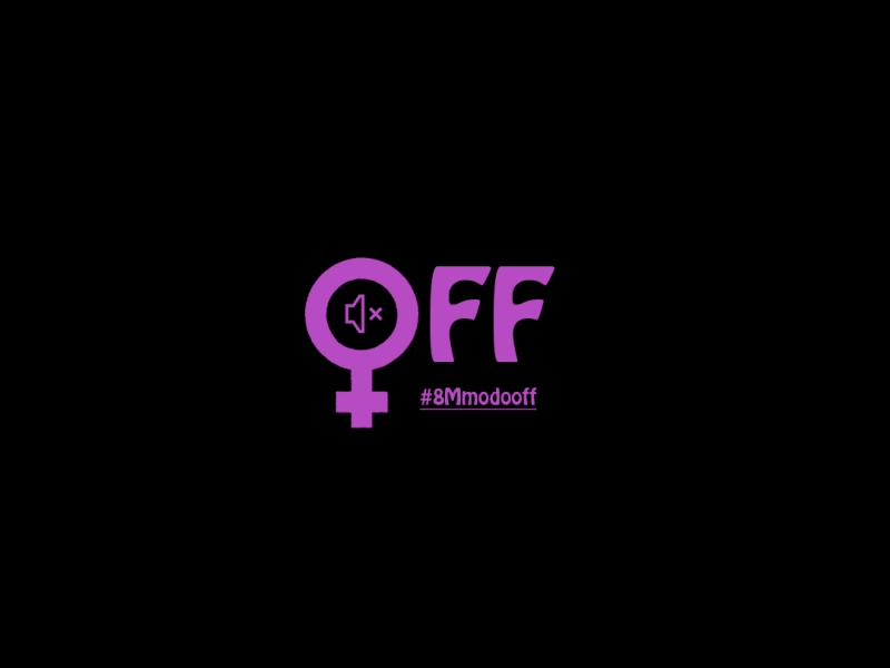 8mmodooff - censo riot girl - 8M - igualdad - manifiesto